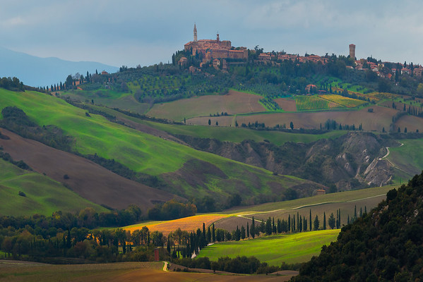 Atop Of It All- Val d'Orcia Region, Tuscany, Italy