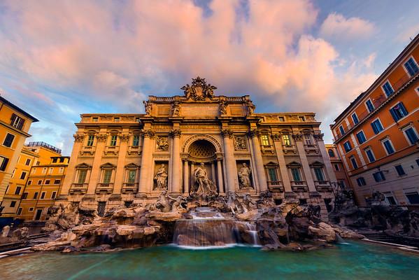 The Trevi Fountain Of Magic - Rome, Italy