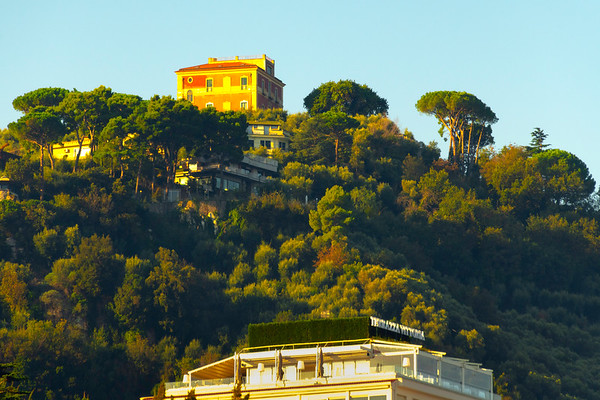 Morning Light On Top Of Cliffs Sorrento, Italy