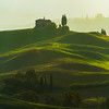 Layers Of Light And Shadow - Val d'Orcia Region, Tuscany, Italy