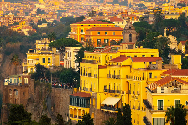 A Mirage Of Rooftop Colors Sorrento, Italy