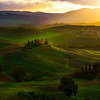 The Break Of Morning Light - Val d'Orcia Region, Tuscany, Italy