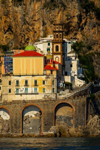 Amalfi Coastline_3 - Amalfi Coast, Campania, Bay Of Naples, Italy