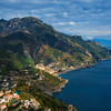 Scattered Light Within The Amalfi Mountainside - Ravello, Amalfi Coast, Campania, Italy