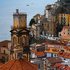 Above The Town Of Minori Along The Trail - Cetara, Amalfi Coast, Bay Of Naples, Campania, Italy