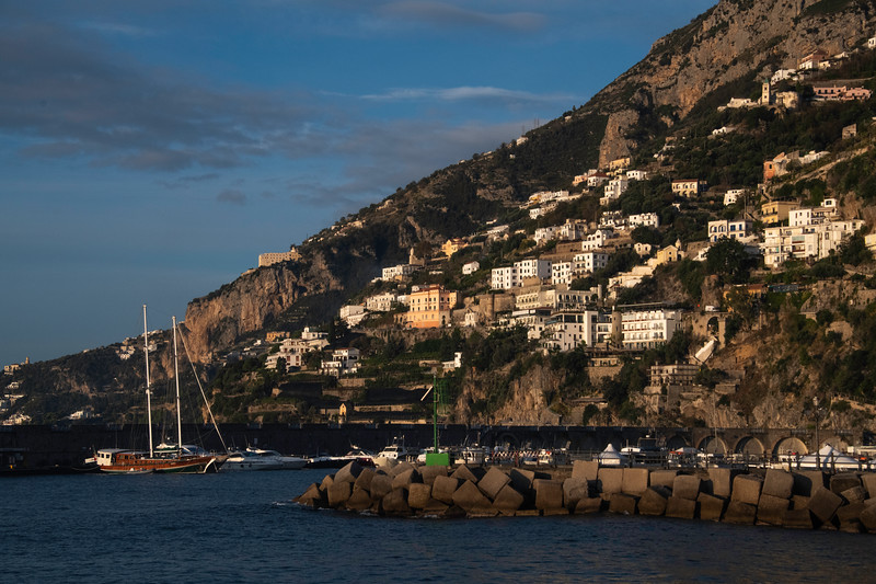 Hanging Out In Amalfi Marina