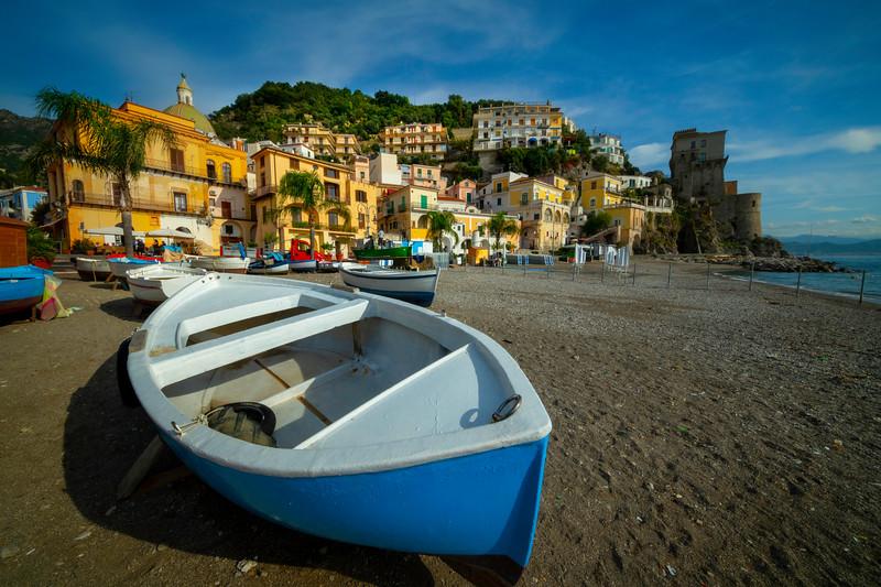 Seaside Town Of Cetara - Cetara, Amalfi Coast, Bay Of Naples, Campania, Italy