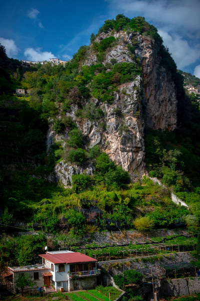 Inside The Mountain Valleys Of Amalfi - Atrani, Amalfi Coast, Campania, Bay Of Naples, Italy