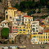 Amalfi Coastline_8 - Amalfi Coast, Campania, Bay Of Naples, Italy