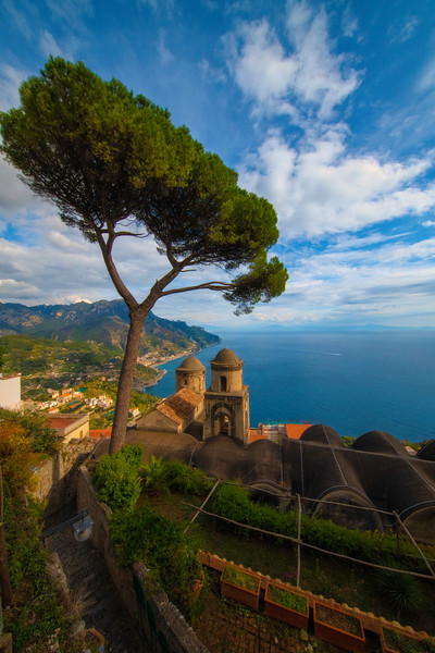 Staircase Into The Garden Of Views - Ravello, Amalfi Coast, Campania, Italy