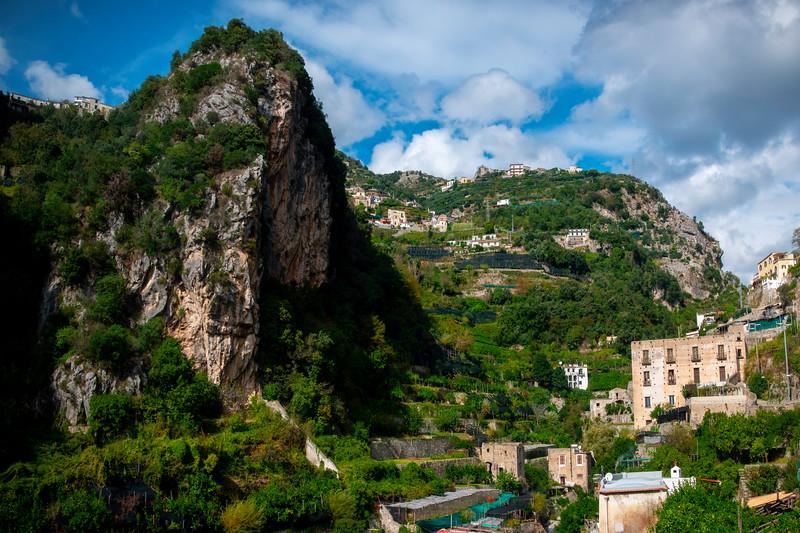Trail That Leads Up To The Town Of Ravello - Atrani, Amalfi Coast, Campania, Bay Of Naples, Italy