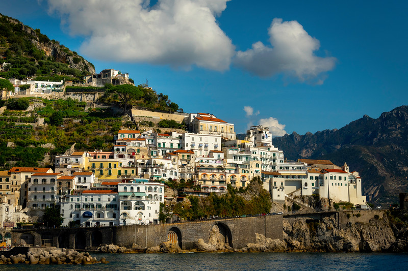 Amalfi Coastline_10 - Amalfi Coast, Campania, Bay Of Naples, Italy