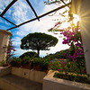 Warmth Of An Afternoon Sunburst In The Gardens - Ravello, Amalfi Coast, Campania, Italy