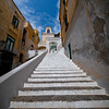 Stairs To The Top Of The Heavens - Atrani, Amalfi Coast, Campania, Bay Of Naples, Italy