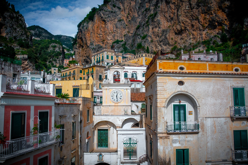 At The Heart Of Atrani - Atrani, Amalfi Coast, Campania, Bay Of Naples, Italy
