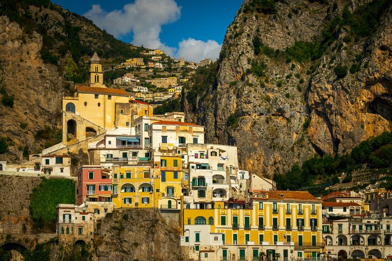 Amalfi Coastline_12 - Amalfi Coast, Campania, Bay Of Naples, Italy