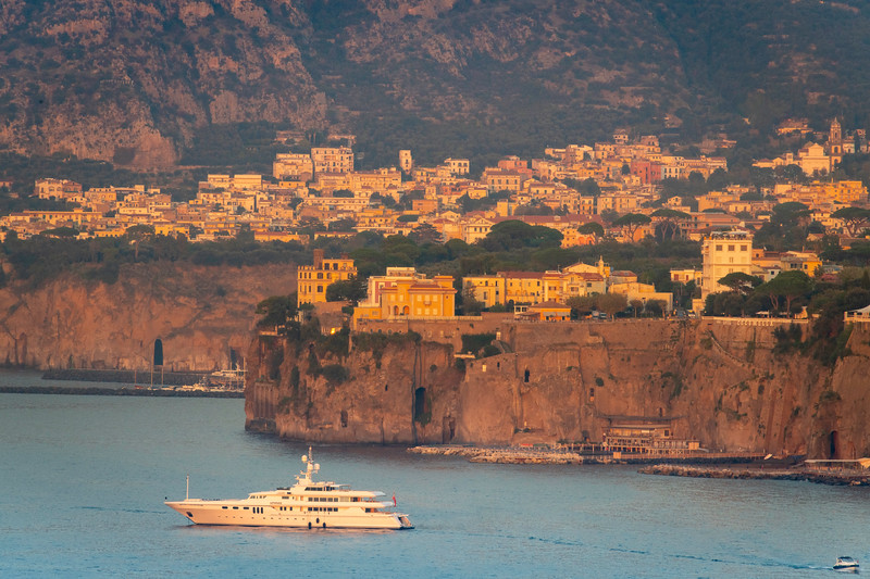 Living The Life At Sea In Front Of Sorrento Sorrento, Italy