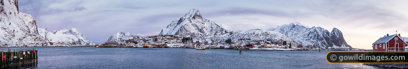 Winter in Reine