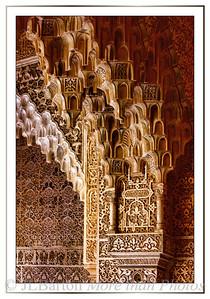 Alhambra ceiling detail