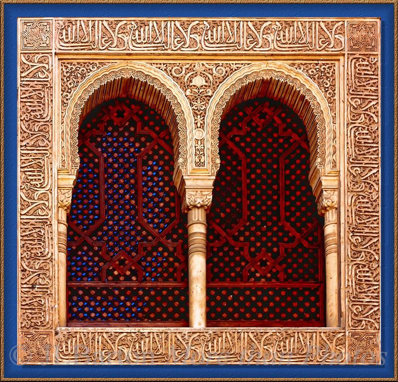 Harem window Alhambra