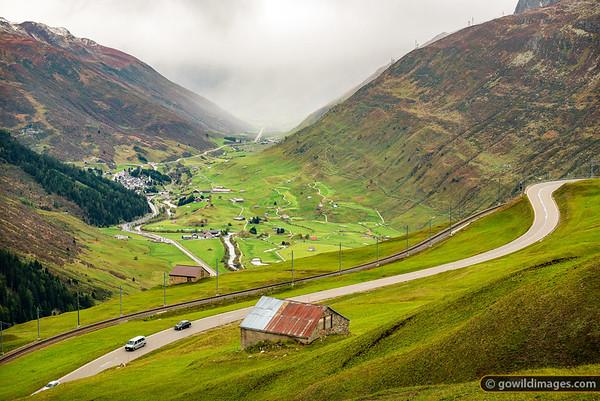 Scenic Mountain Roads
