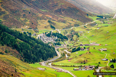 Andermatt Valley