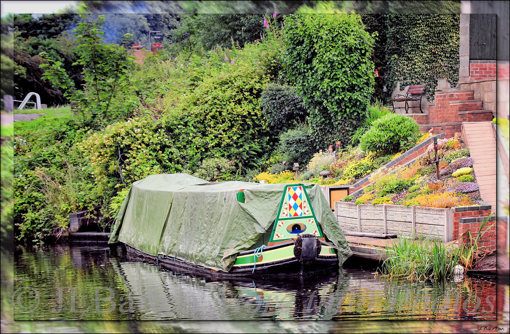 Resting private boat and mooring