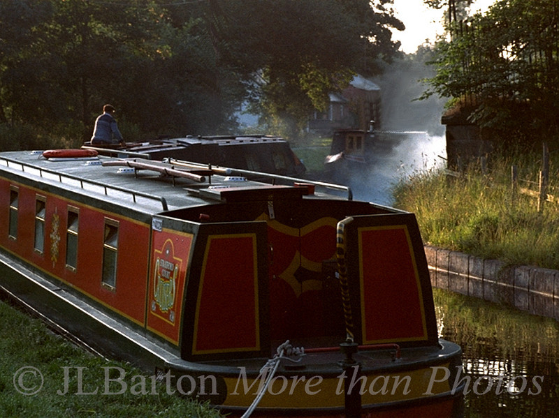 Early Morning on the UK Canal