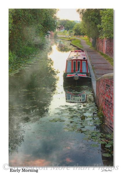 Early Morning outside Stourbridge, Midlands, UK