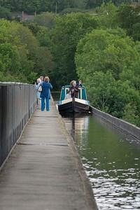 Boat on the Pontcysyllte Aqueduct