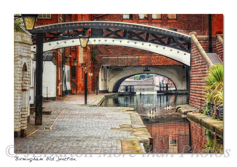 Birmingham Where two canal companies joined their canals