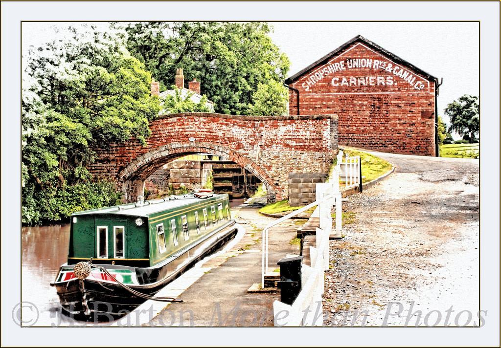 Bunbury Lock and Warehouse Shropshire Union Canal