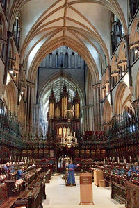 Choir Practice, Lincoln Cathedral