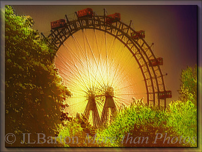 The Riesenrad Prater symbol since 1897