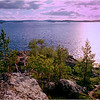 Ukonsaari, Lake Inari. Lappi, Finland.