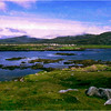 Lochboisdale, South Uist. Outer Hebrides, Scotland. July, 1989.