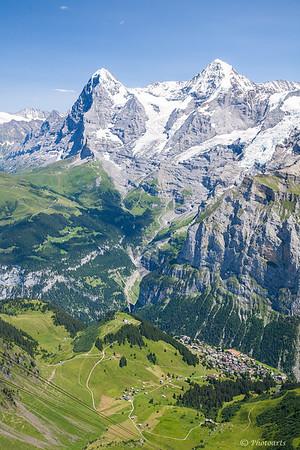 Aerial Alps