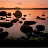 Midnight near Lake Inari. Lappi, Finland.