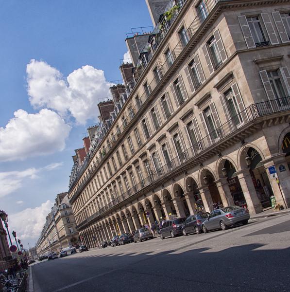 The Sideways Path to the Place de la Concorde