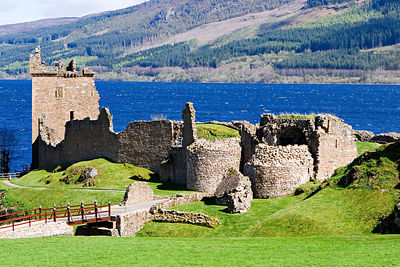 Urquhart Castle, Inverness - Scotland, UK.