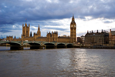 Parliament and Big Ben, London, UK.