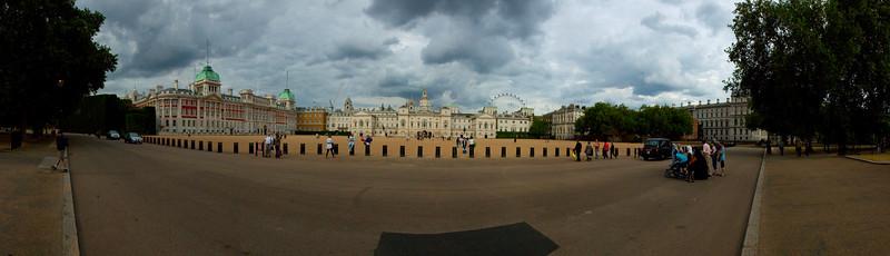 The Horse Guards Parade near Buckingham Palace, London, UK 2010
