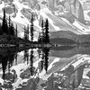 Reflections of the things I love in black & white