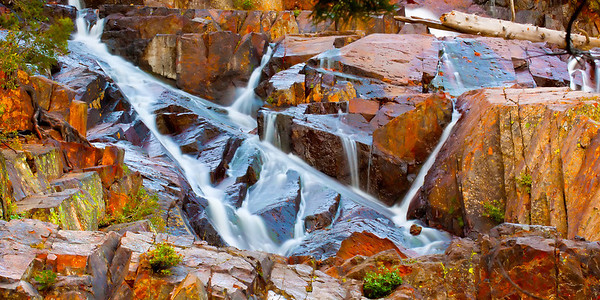 Glen Alpine Falls, Fallen Leaf Lake, California