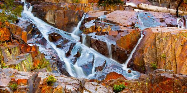Glen Alpine Falls, Fallen Leaf Lake, California