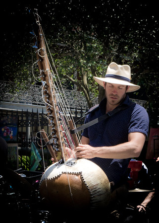 Jonah, Playing the  Kora, Jackson Square