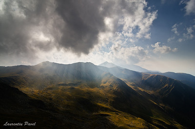 """When you are old and grey and full of sleep, And nodding by the fire, take down this book, And slowly read, and dream of the soft look Your eyes had once, and of their shadows deep;"" by William Butler Yeats  Fagaras mountains"