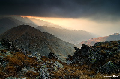 Trouble is coming  Fagaras mountains