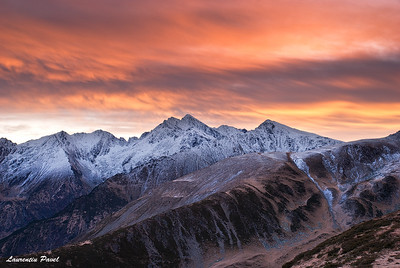 Worlds apart  Fagaras mountains