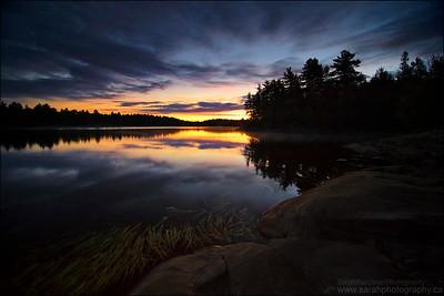 Harry Lake, Killarney Provincial Park, ON.